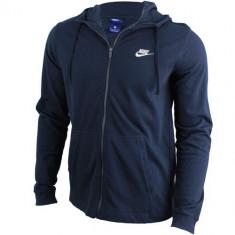 Hanorac barbati Nike Hoodie Full Zip JSY Club 861754-451