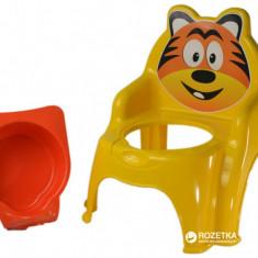 Olita pentru copii Doloni cu tigru, galben