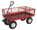 Cumpara ieftin Carucior transportator cu 4 roti incarcare 450kg