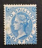 Cumpara ieftin ANGLIA 1867, 2 Shilling, PL.1,S.G nr.118 Val. Cat. SG 4500lire. MLH-Vezi foto!