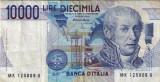 Italy 10.000 Lire 03.09.1984 P112d Circulata