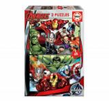 Cumpara ieftin Puzzle Avengers, 2 x 48 piese, Educa