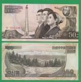 = COREA DE NORD - 50 WON - 1992 - UNC   =