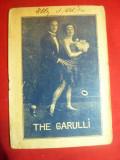 Ilustrata - Reclama Spectacol -The Garulli- interbelica