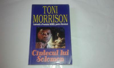 TONI MORRISON - CANTECUL LUI SOLOMON foto
