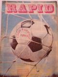 Revista fotbal - RAPID BUCURESTI (decembrie 1982)