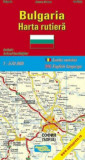 Bulgaria. Harta rutiera/***