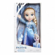 Cumpara ieftin Papusa Elsa cu rochie de calatorie, 36 cm