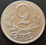 Moneda istorica 5 ORE - DANEMARCA, anul 1941 *cod 5125 = Eroare exfoliere, Europa, Aluminiu