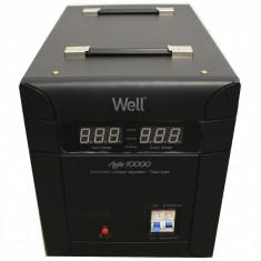 Stabilizator automat de tensiune Agile 10000VA 7000W Well