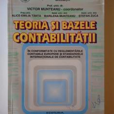 Teoria si bazele contabilitatii - Victor Munteanu, an 2002
