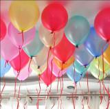 Baloane mari multicolore latex, 25X30 cm, 100 bucati, PRC