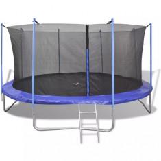 Set trambulină cu 5 piese, 4,57 m