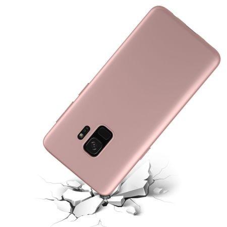 Husa Samsung Galaxy S9 Flippy Luxury Case Roz Auriu/Pink Gold