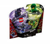 Set de constructie LEGO Ninjago Spinjitzu Lloyd contra Garmadon
