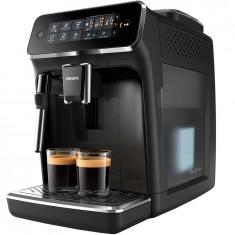 Espressor automat Philips EP3221/40, sistem de spumare a laptelui, 4 bauturi, filtru AquaClean, rasnita ceramica, optiune cafea macinata, ecran tactil