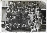 Fotografie elevi militari romani pusca-mitraliera ZB 1939