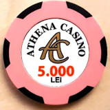 Jeton Athena Casino 5000 Lei