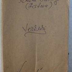 VERSURI de ELENA FARAGO ( FATMA ) , BUDAPESTA 1906