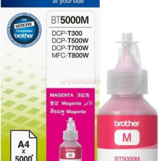 Flacon de cerneala Brother BT5000M, 5000 pagini (Magenta)