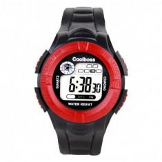 Ceas digital pentru copii, model Sport, curea silicon