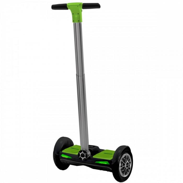 Streetboard electric Kawasaki KX-ST10.1 viteza 20 km roti 10 inch 700W Black Green