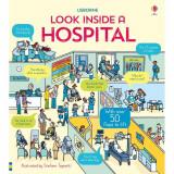 Look inside a hospital - Carte Usborne 3+