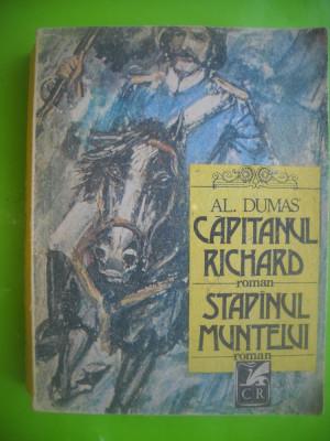 HOPCT CAPITANUL RICHARD/STAPINUL MUNTELUI-AL DUMAS EDIT C ROM 1989 -542   PAGINI foto