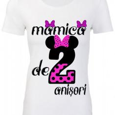 "TRICOU DAMA ""MAMICA DE 2 ANISORI"""