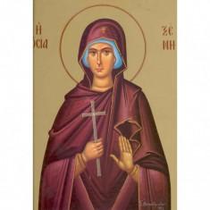Icoana Sfanta Cuvioasa Xenia, zisa si Eusebia