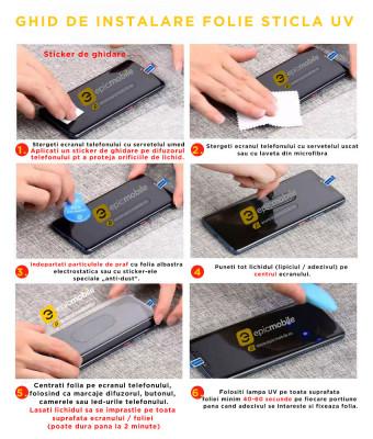 Folie de Sticla Samsung S20 Ultra, Mocolo 3D UV Glass – Full Cover – Clear foto
