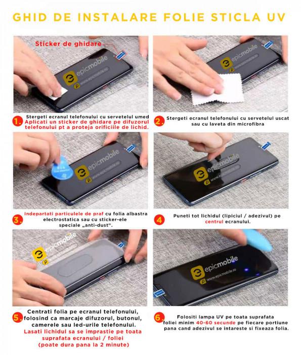 Folie de Sticla Samsung S20 Ultra, Mocolo 3D UV Glass – Full Cover – Clear