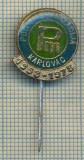 Y 350 INSIGNA-POLJOMEHANIZACIJA-TRACTOR-KARLOVAC-IUGOSLAVIA -PENTRU COLECTIONARI