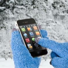 Manusi Speciale pentru Afisaje Tactile (Touchscreen) Albastru