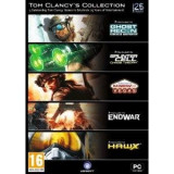 Tom Clancy Collection PC, Shooting, 18+, Single player, Ubisoft