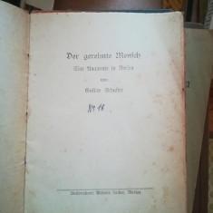 Der gereimte Mensch. Eine Anatomie in Versen Taschenbuch – Gustav Schuster, 1946