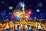 Puzzle Castorland - Glamour of the Night Paris 1000 piese