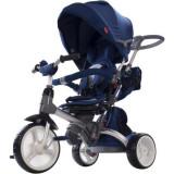 Cumpara ieftin Tricicleta cu sezut reversibil Sun Baby 007 Little Tiger - Blue