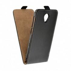 Husa MICROSOFT Lumia 435 \ 532 - Flip Vertical (Negru)