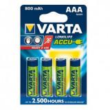 Baterie reincarcabila Varta AAA HR3 800mAh Conținutul pachetului 1x Blister