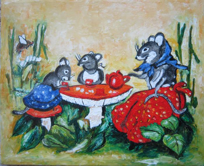 Tablou / Pictura picnic