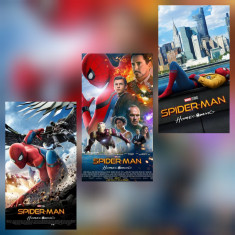 Poster Spider-Man Spiderman Homecoming The Amazing Spiderman Marvel Afis A3