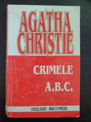 CRIMELE A.B.C. - Agatha Christie foto