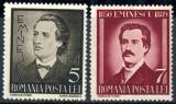 1939 LP130 serie 50 de ani de la moartea lui Mihai Eminescu MNH