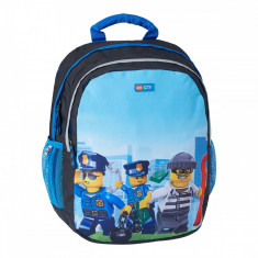 Rucsac gradinita LEGO® Core Line Ergo - City Police Chooper