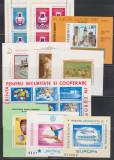 Romania, 10 colite/blocuri 1969 - 1980, MNH