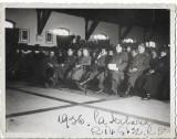 A590 Fotografie ofiteri Regimentul 2 Vanatori Garda Regina Elisabeta 1936