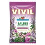 Bomboane Salvie cu Vitamina C Fara Zahar 80g Vivil Cod: 4020400891103