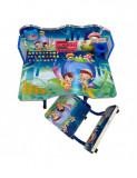 Cumpara ieftin Birou copii din MDF cu jucarii interactive,dimensiuni 68X43X65, albastru B1