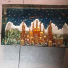 castel in plastic rar din comunism